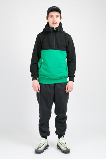 Толстовка The Mask Combo Summer Черный/Зеленый Яркий