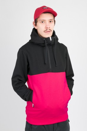 The Mask Combo Summer Hoodie Black/Magenta