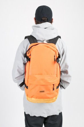 Action Backpack Orange/Beige