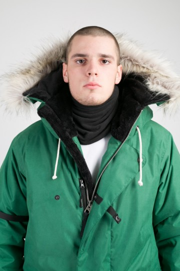 Fire COR Jacket Forest Green