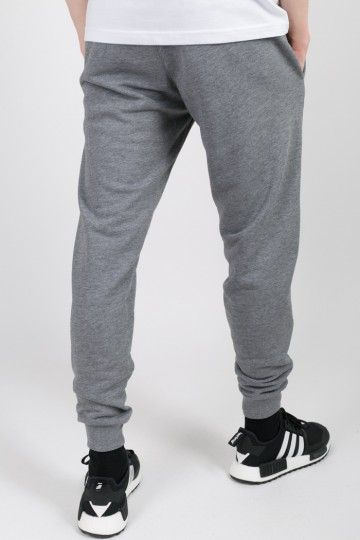Basic Summer Pants Dark Gray Melange