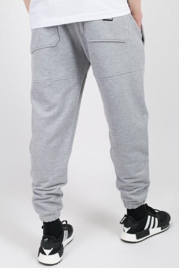 Runner Summer Pants Light Gray Melange