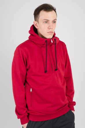The Mask Summer Hoodie Bordeaux