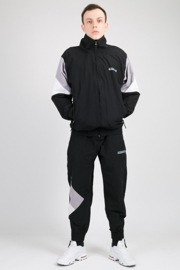Олимпийка Olymp Черный/Серый/Белый