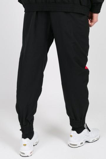 Штаны Jogger 92 Черный/Красный/Василек