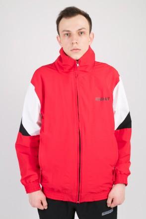 Olymp Track Jacket Red/White/Black