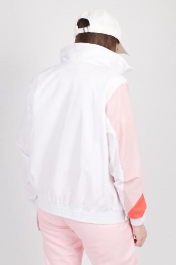 Олимпийка Olymp Lady Белый/Розовый Бледный/Лососевый