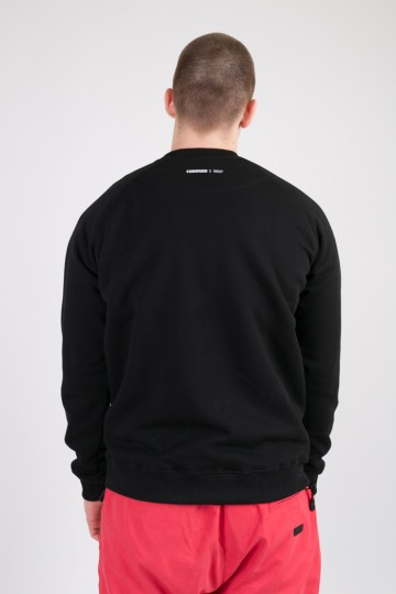 Firm CODERED x Snekzy Crew-neck Black