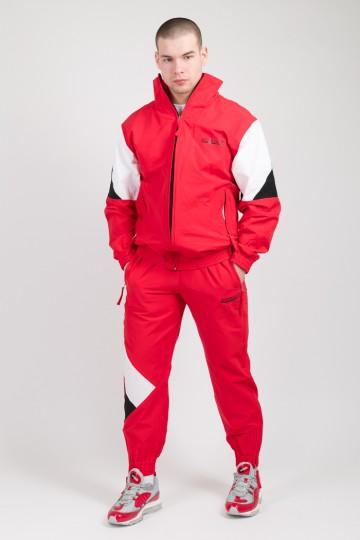 Штаны Jogger 92 Красный/Белый/Черный