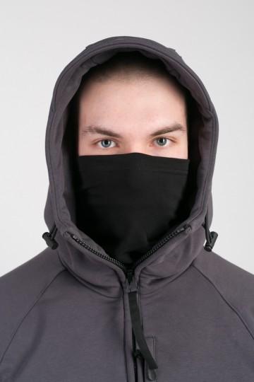 Толстовка Zip COR Серый Темный