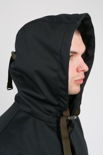 Upfront Raincoat Black Softshell