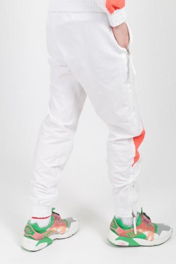 Штаны Jogger 92 Lady Белый/Розовый Бледный/Лососевый