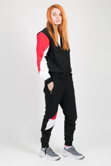 Штаны Jogger 92 Lady Черный/Красный/Белый