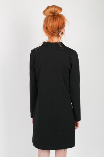 Поло-платье Adress Черный