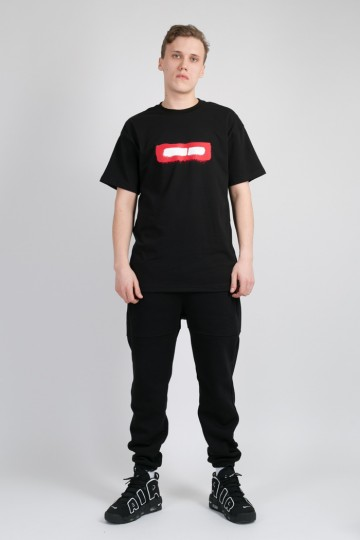 Футболка T+ Spray Boxlogo Черный