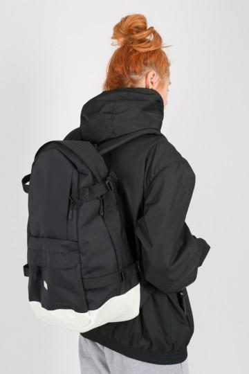 Рюкзак Action Черный/Белая кожа