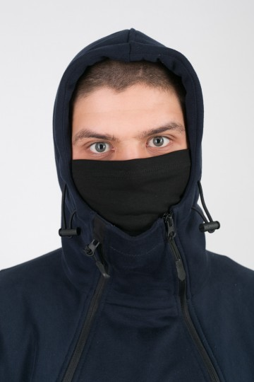 A-Mask Hoodie Dark Blue