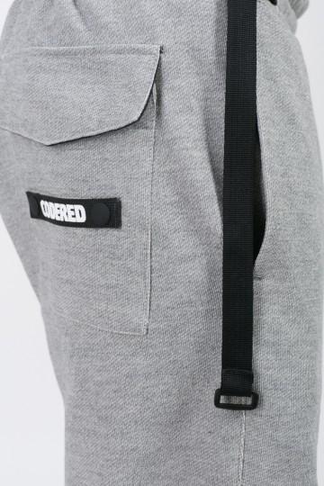Штаны Basic COR Средне-серый Меланж