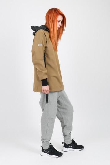 Штаны Basic Lady COR Средне-серый Меланж
