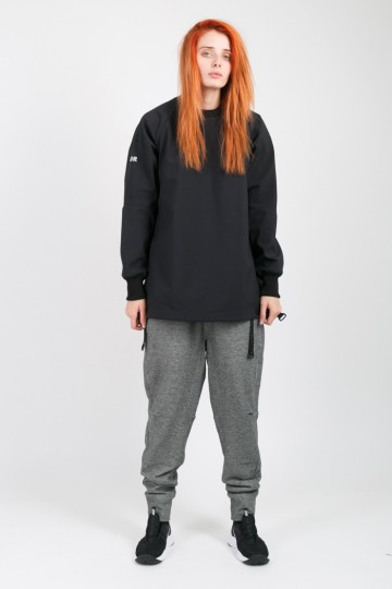 Basic COR Lady Pants Anthracite Melange