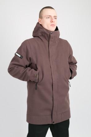 Пальто Sector Coat COR Серый Коричневый