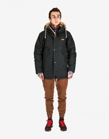 Куртка Shadow Черно-зеленая