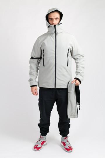 Куртка Safe COR Пепельный
