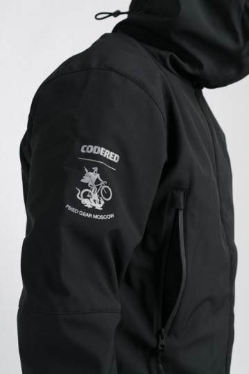 Куртка Safe COR Fixed Gear Moscow Черная