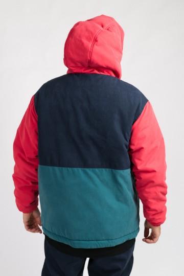 Анорак CodeRed Sport Superblaster Красный/Нэви/Горчичный/Морской зеленый