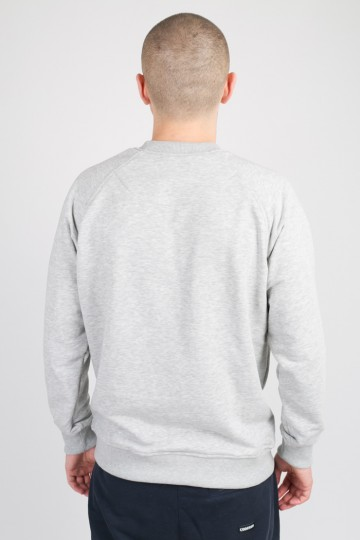 Firm Summer Crew-neck Gray Melange