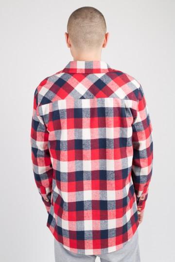 Рубашка Harbor Красный/Синий Темный/Белый