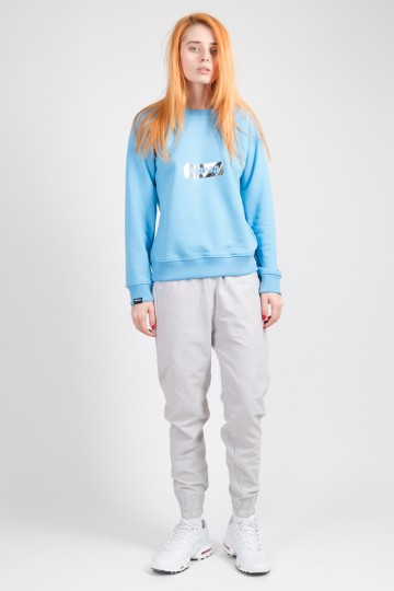 Clean Summer Crew-neck Sky Blue
