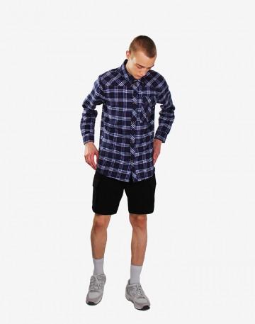 Рубашка Harbor Чернильно-синий/молочный