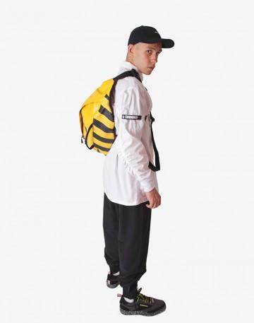 Сумка Hip Bag XXL x Faces&Laces Желтая Теза