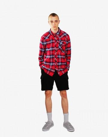 Рубашка Harbor Синий/Красный/Белый