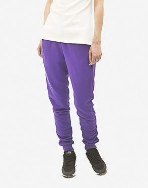 Basic Lady Summer Pants Violet