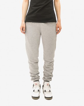 Basic Lady Summer Pants Light Gray
