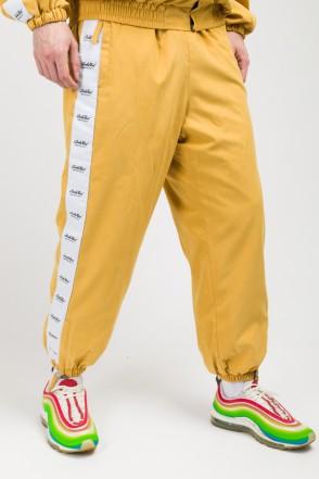 Stripe Jogger Pants Mustard