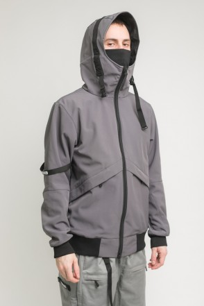 Get High 3 COR Jacket Dark Gray