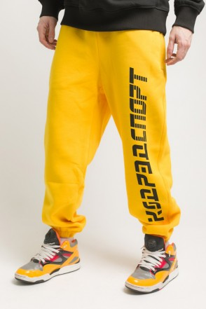 Trainer Pants Warm Yellow Cropped