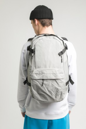 Action Backpack Ash Gray/Gray logo CODERED
