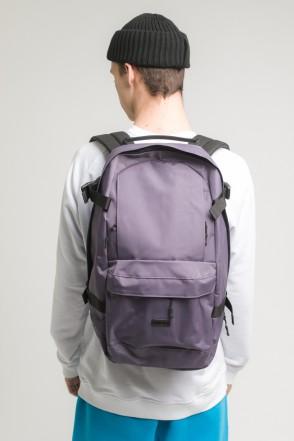 Action Backpack Dark Gray Taslan