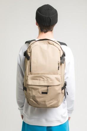 Action Backpack Beige Taslan
