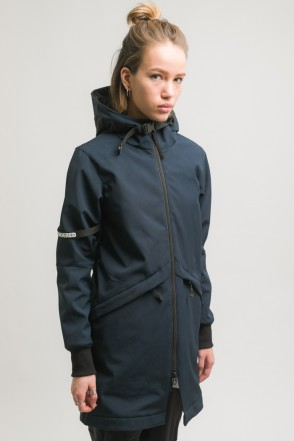 Allover 3 COR Jacket Dark Blue