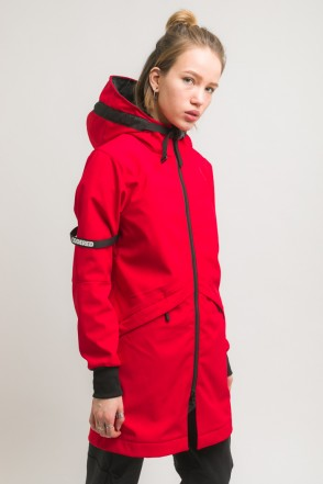 Allover 3 COR Jacket Red