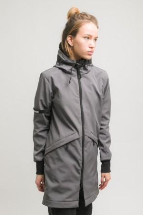 Allover 3 COR Jacket Dark Gray
