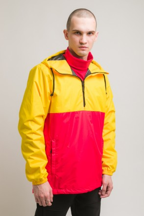 Font 3 Anorak Warm Yellow/Red