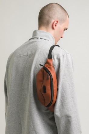 Hip Bag Brown Art. Leather