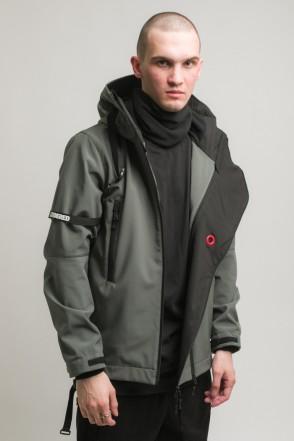 Safe 3 COR Jacket Dark Gray Softshell