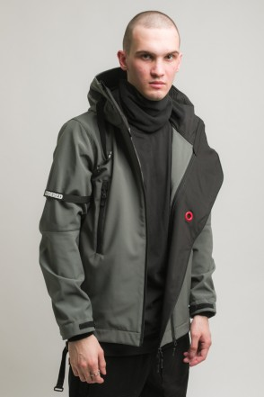 Safe 3 COR Jacket Dark Gray Softshell